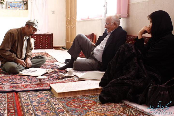 فارسان ، منزل سید خلیل حسینی - شاهنامه خوان - بیستم آبان - 85