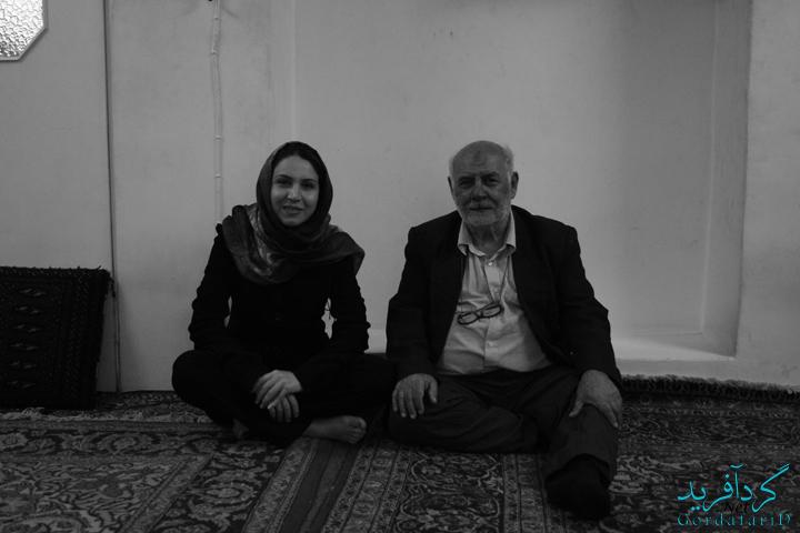 تهران ، منزل سید داوود جعفر پور - شاهنامه خوان ، هجدهم آبان 86