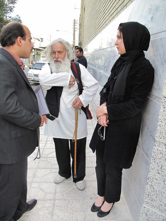 در کنار مرشد ابوالحسن میرزا علی - پرده خوان (عکاس : مریم فخیمی)