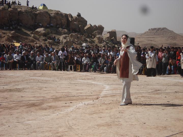 همایش بزرگ شاهنامه ، روستای سیمیلی در خوزستان - سوم فرودین 87